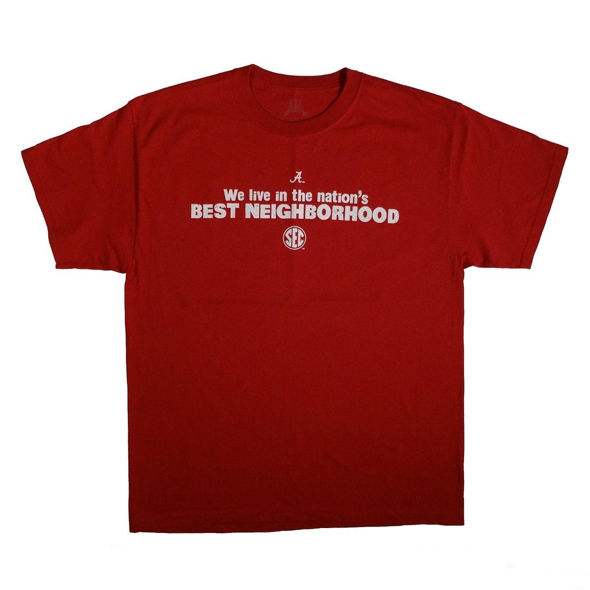 Alabama Football Bryant Denny Stadium T Shirt Front