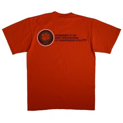 Clemson Tigers Basketball Nike T Shirt Back