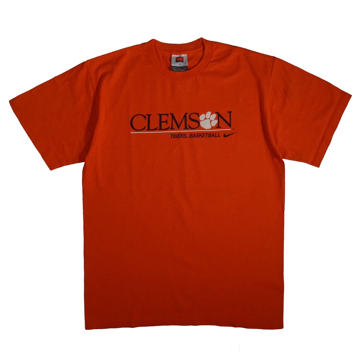 Clemson Tigers Basketball Nike T Shirt Front