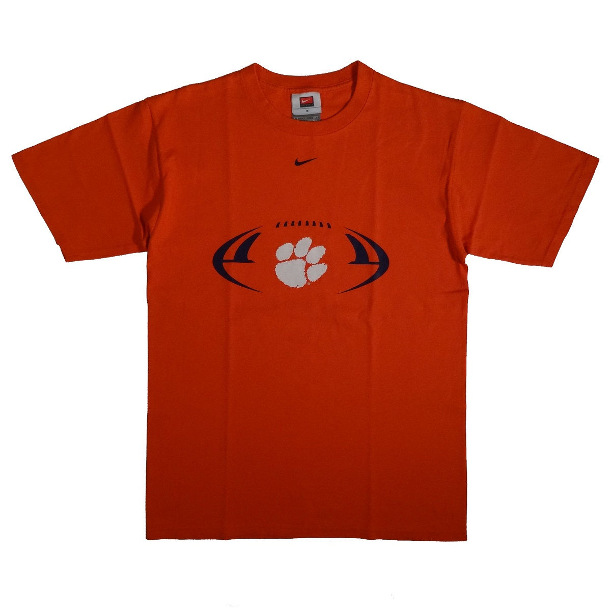 Clemson Tigers Football Nike T Shirt Front