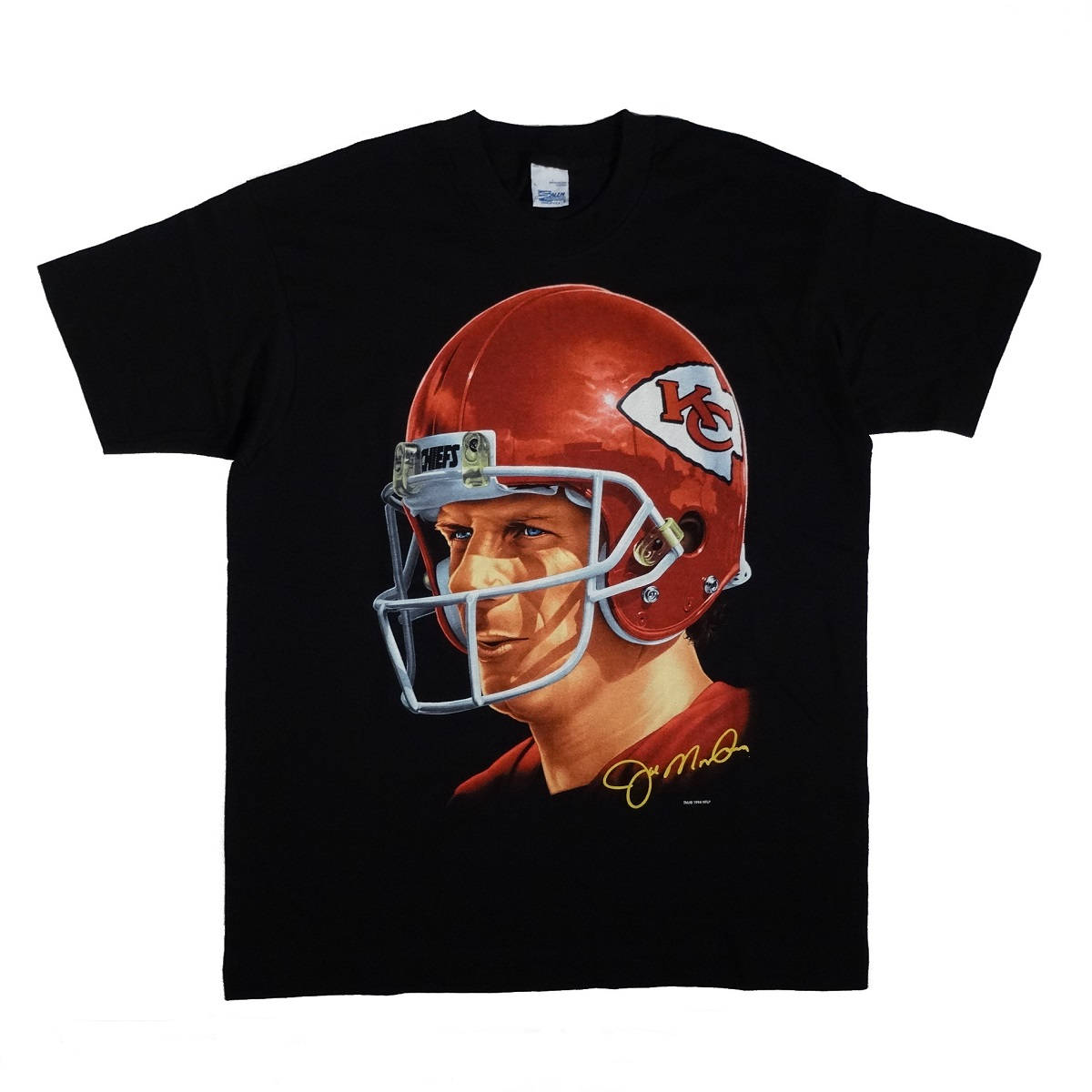Joe Montana Kansas City Chiefs Shirt Front