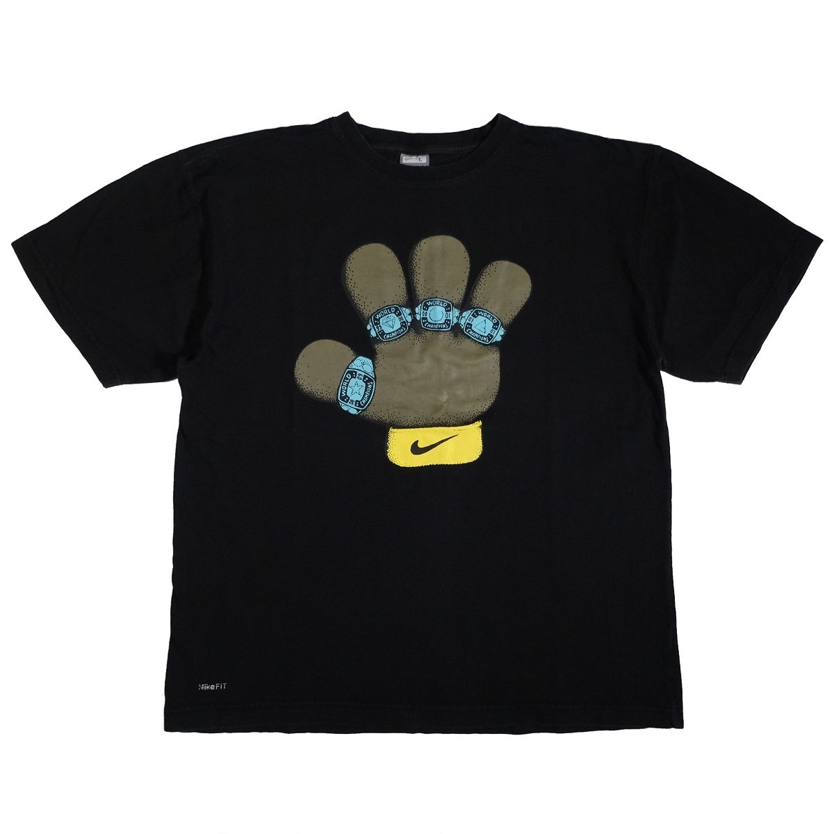 Kobe Bryant Lakers Puppets 4 Rings Shirt Front
