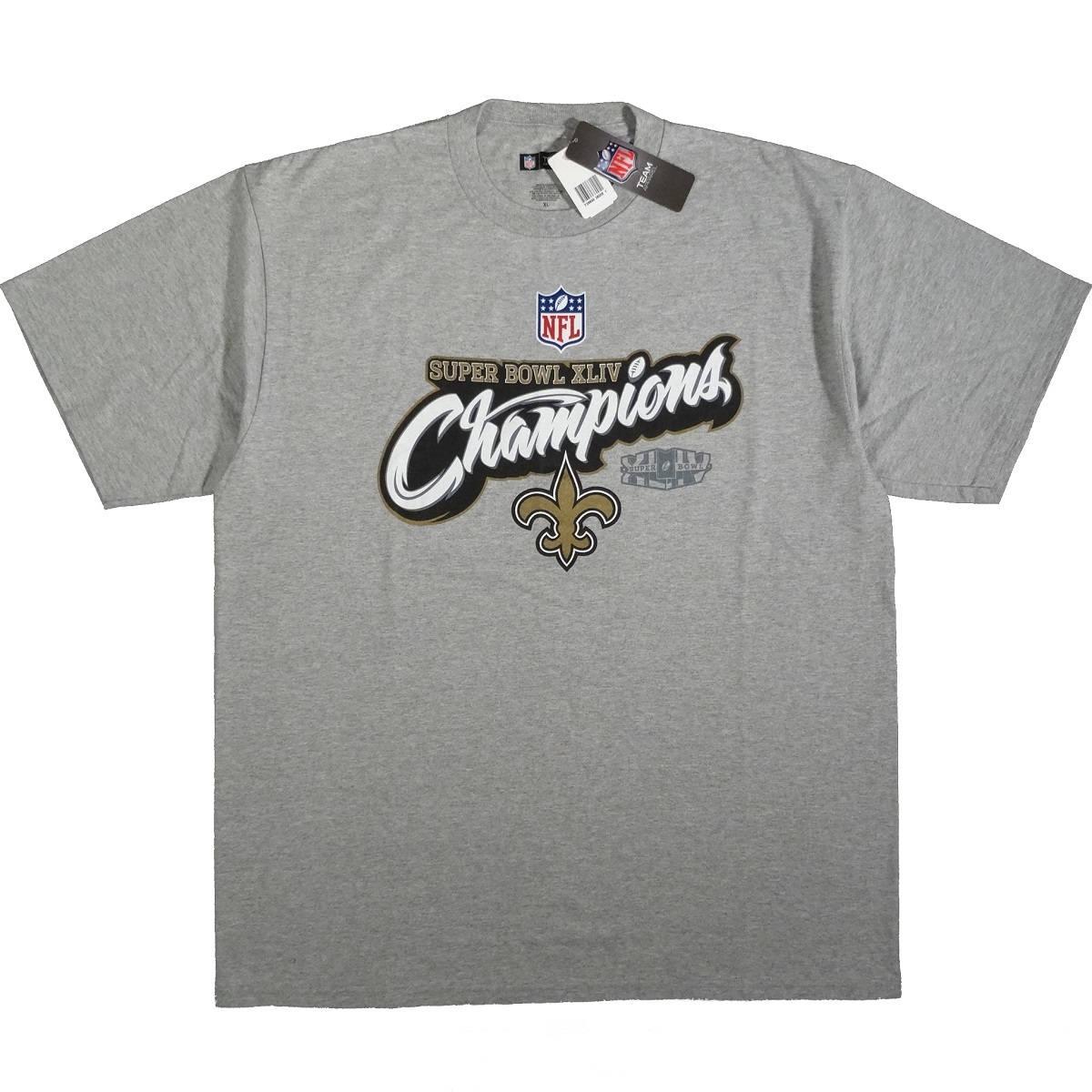 New Orleans Saints Super Bowl Champions Front of Shirt