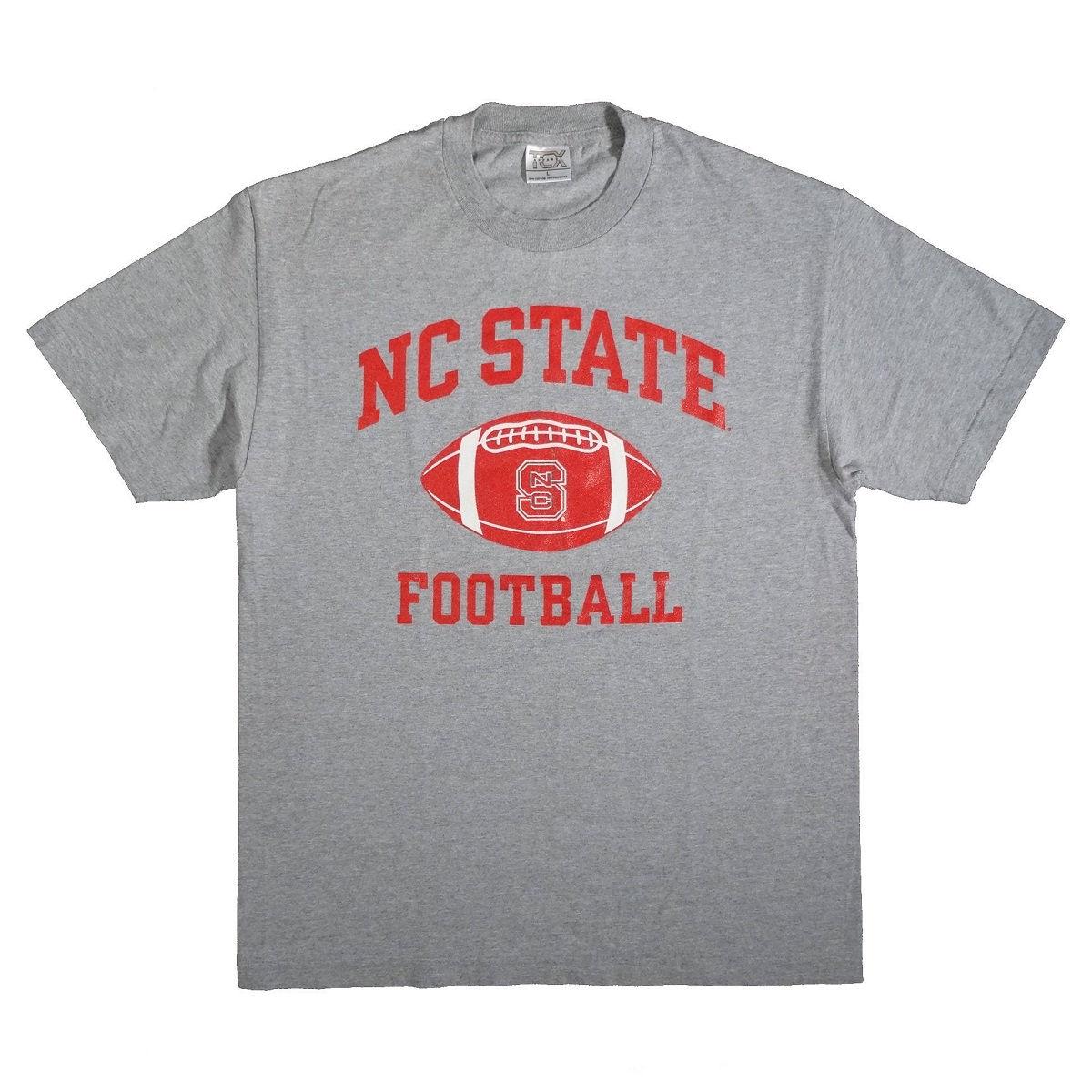 North Carolina State Wolfpack Football T Shirt Front