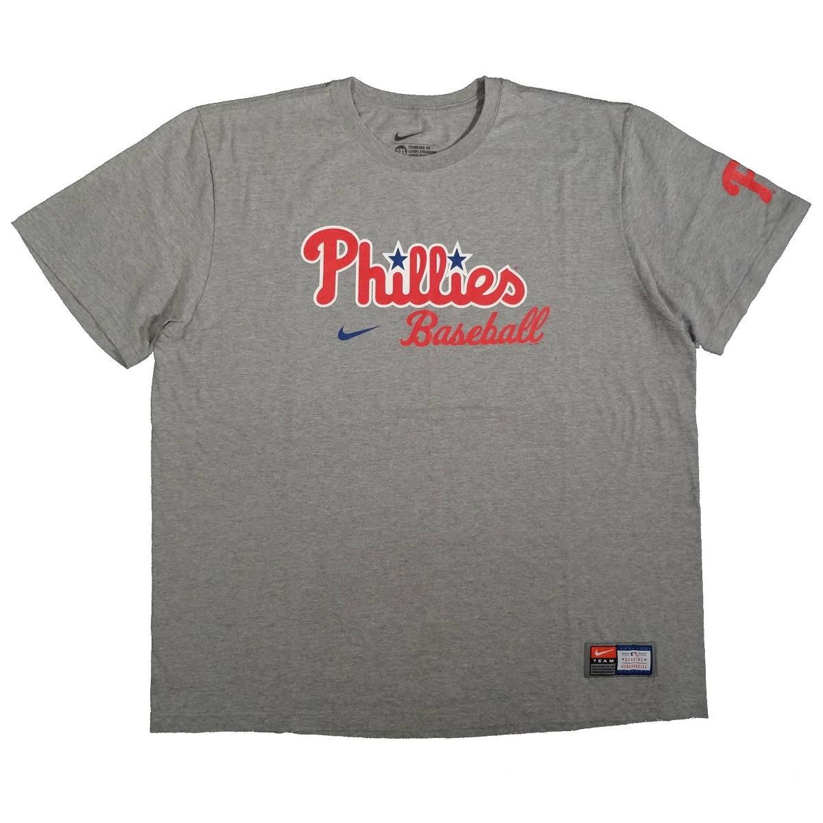 Philadelphia Phillies Nike T-Shirt 2XL Front