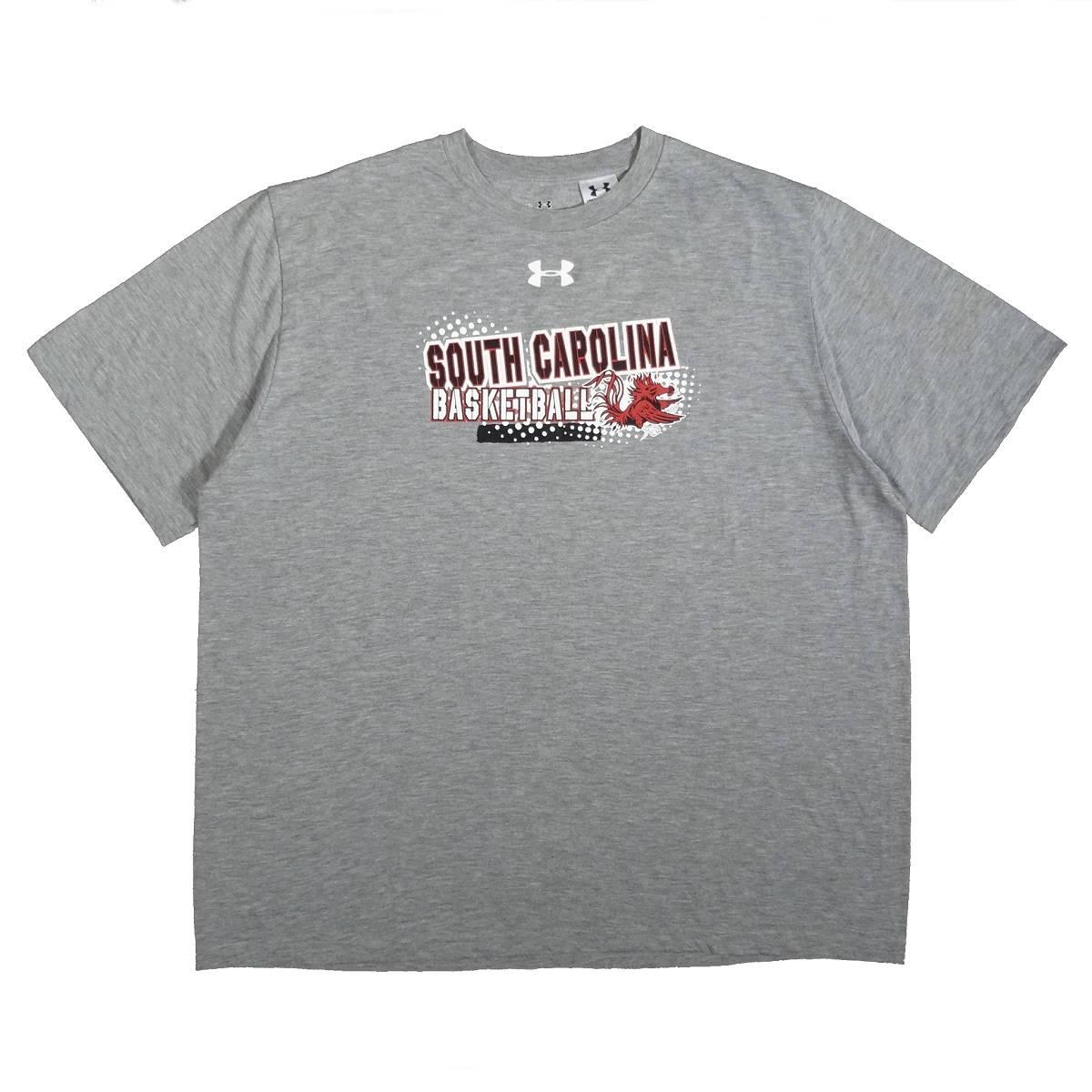 South Carolina Gamecocks Basketball Under Armour Shirt Front