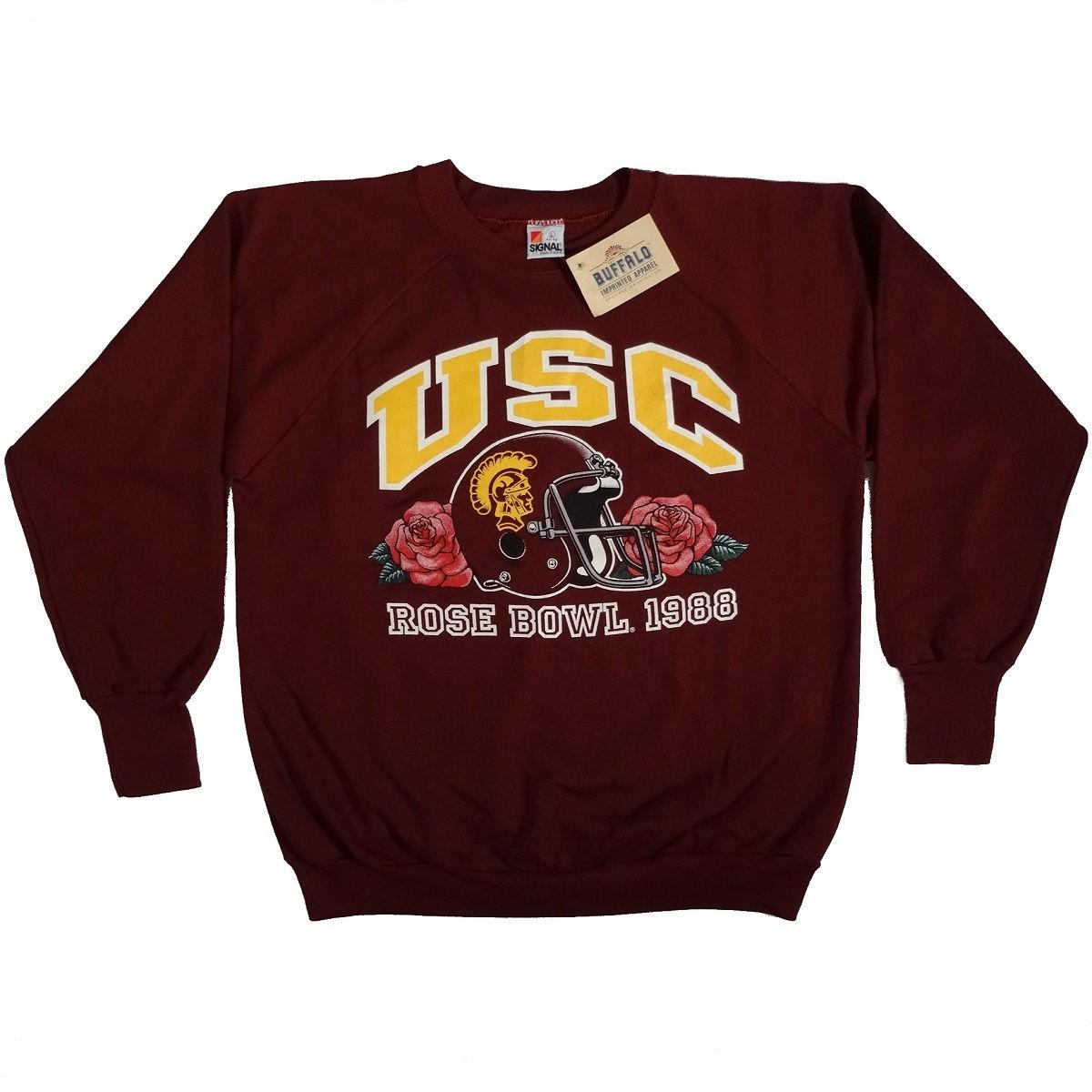 USC Trojans Rose Bowl 1988 Vintage Sweat Shirt Front