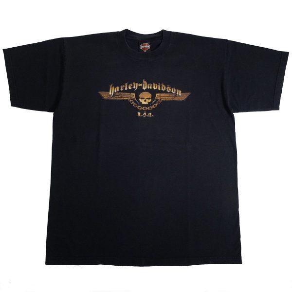 Braunschweig Germany Harley Davidson T Shirt Front