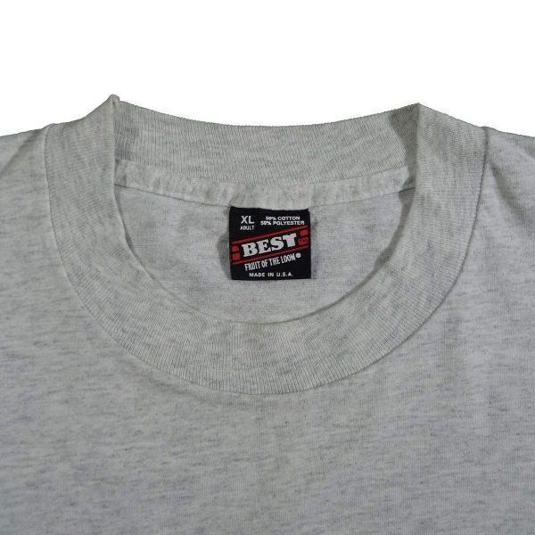 Daytona Florida Bike Week 1995 Biketoberfest T Shirt Collar Tag