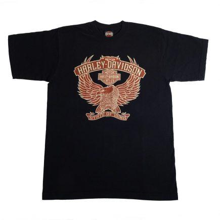 Elkhart Indiana Hoosier Harley Davidson State of Mind T Shirt Front