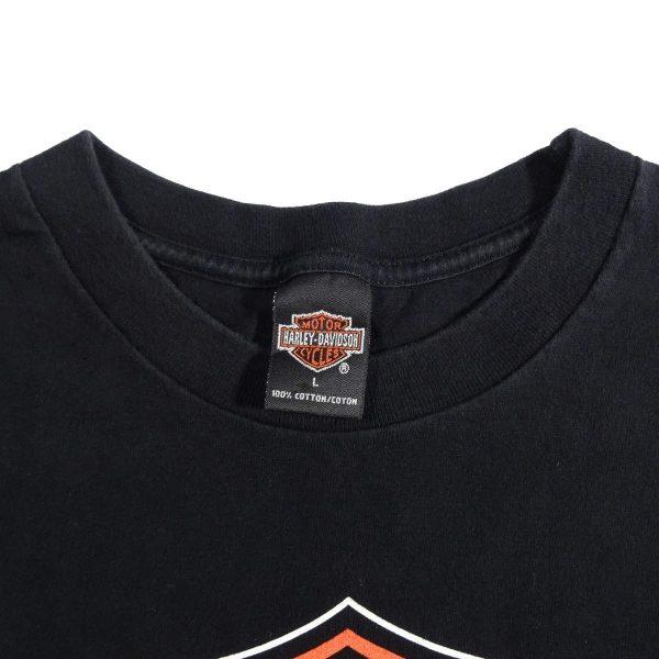 Gastonia NC Carolina Harley Davidson Vintage T Shirt Collar Tag
