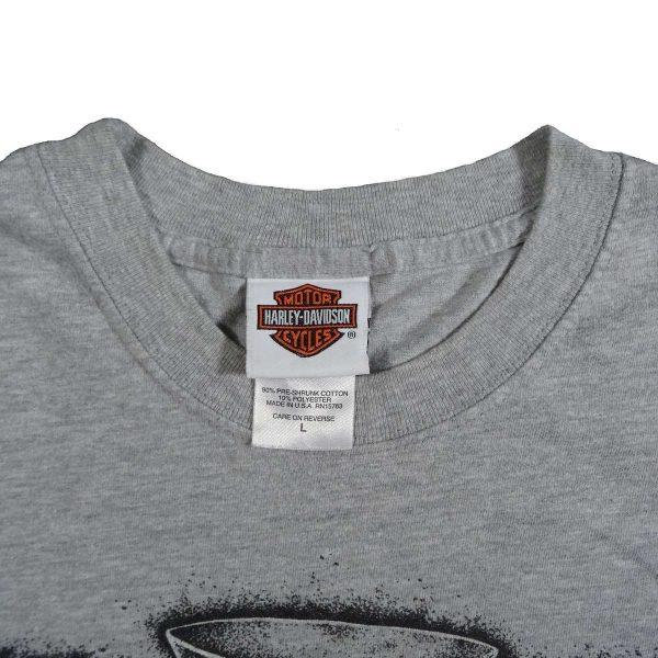 Las Vegas Nevada Harley Davidson T Shirt Collar Tag