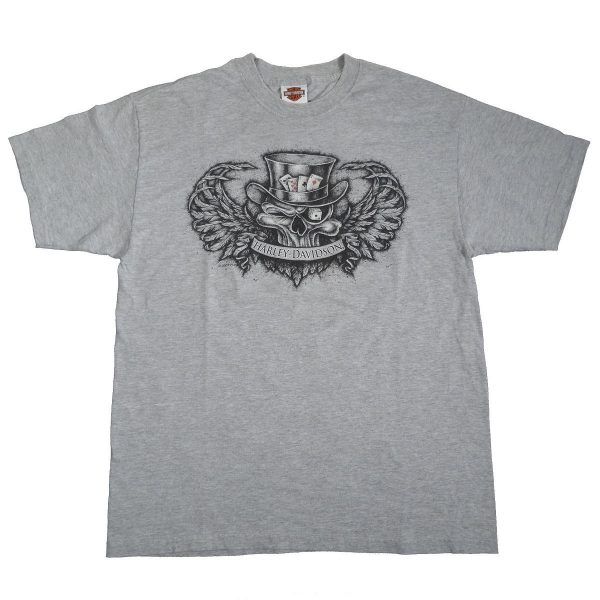 Las Vegas Nevada Harley Davidson T Shirt Front