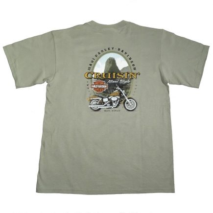 Maui Hawaii Harley Davidson Back of T Shirt