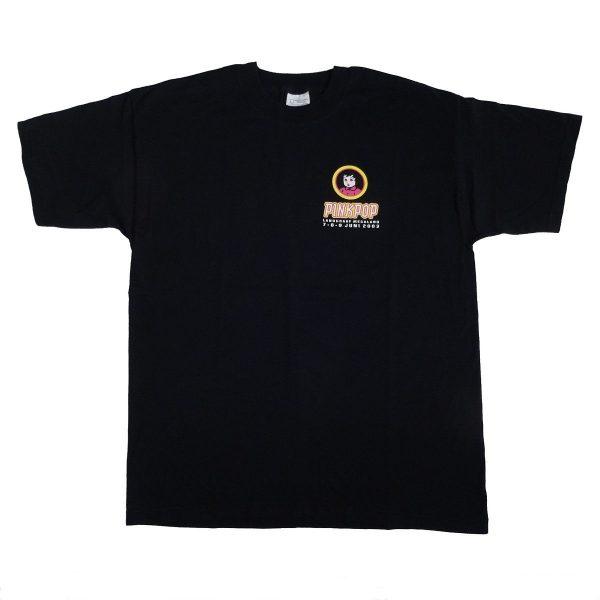 Pinkpop Festival 2003 T Shirt Front