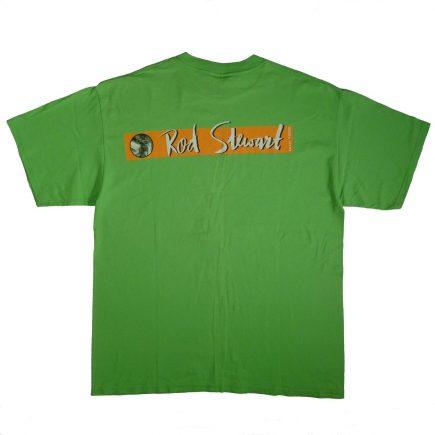 Rod Stewart Vintage 1999 Tour T Shirt Back