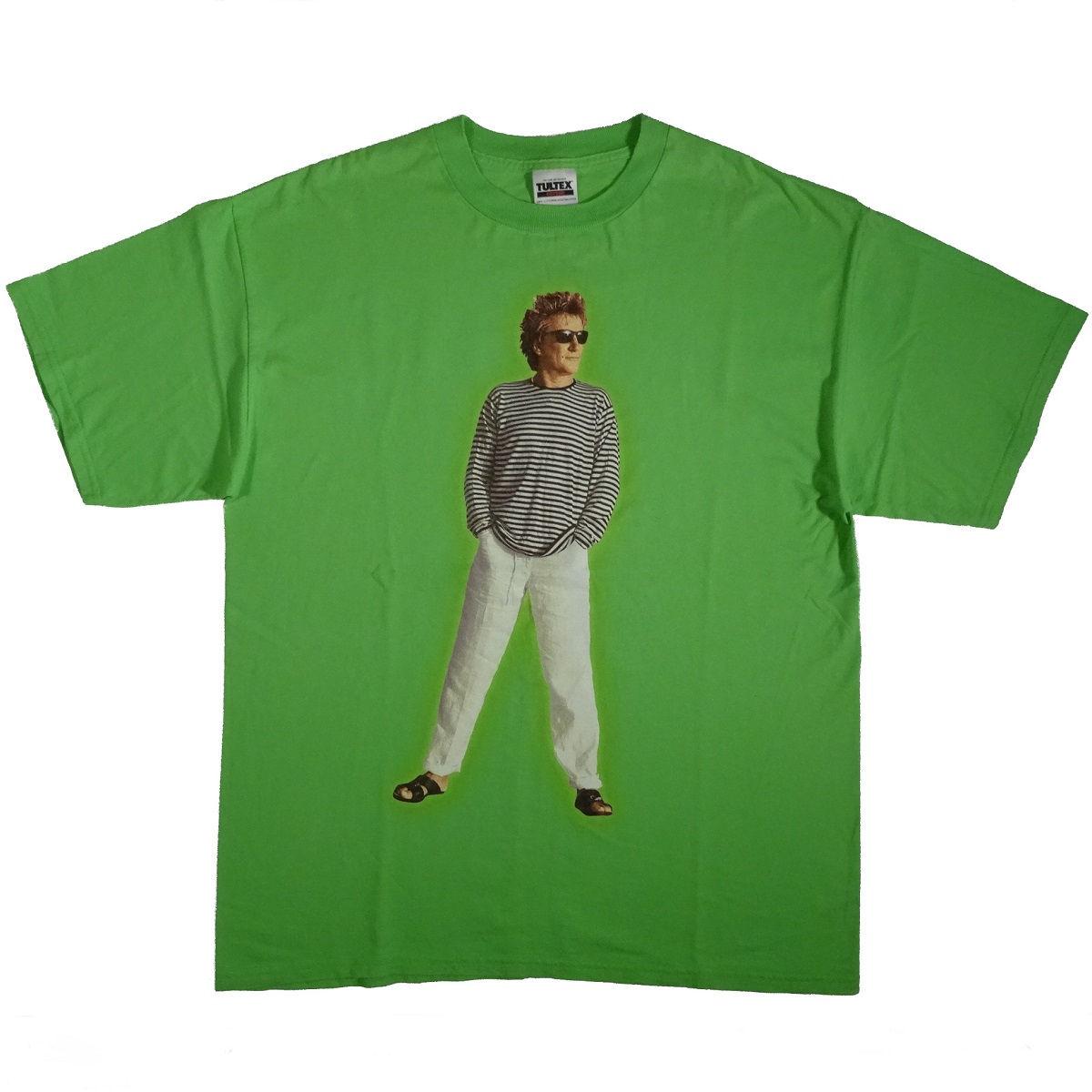 Rod Stewart Vintage 1999 Tour T Shirt Front