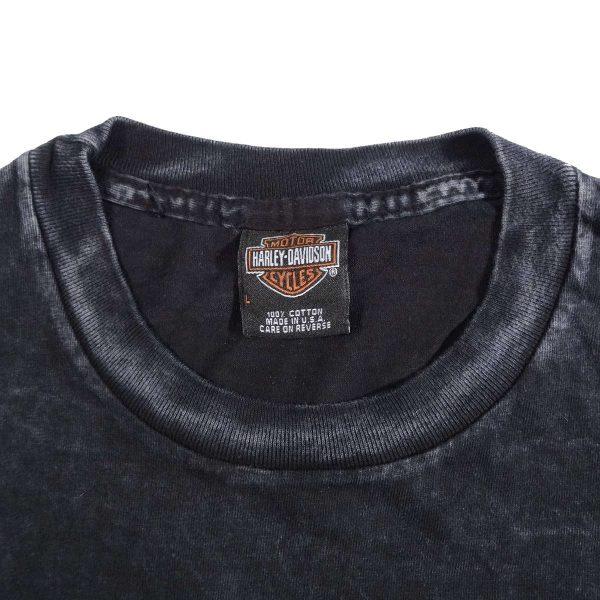 Seattle Washington Downtown Harley Davidson T Shirt Collar Tag