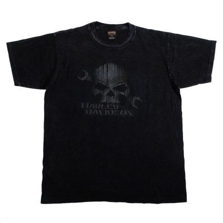 Seattle Washington Downtown Harley Davidson T Shirt Front