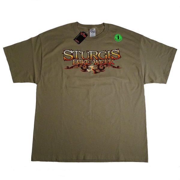 Sturgis SD Bike Week 2007 Motorcycle T Shirt Front Image