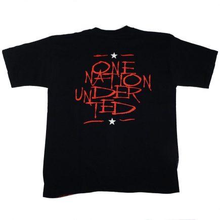 Ted Nugent One Nation Under Ted Vintage T Shirt Back
