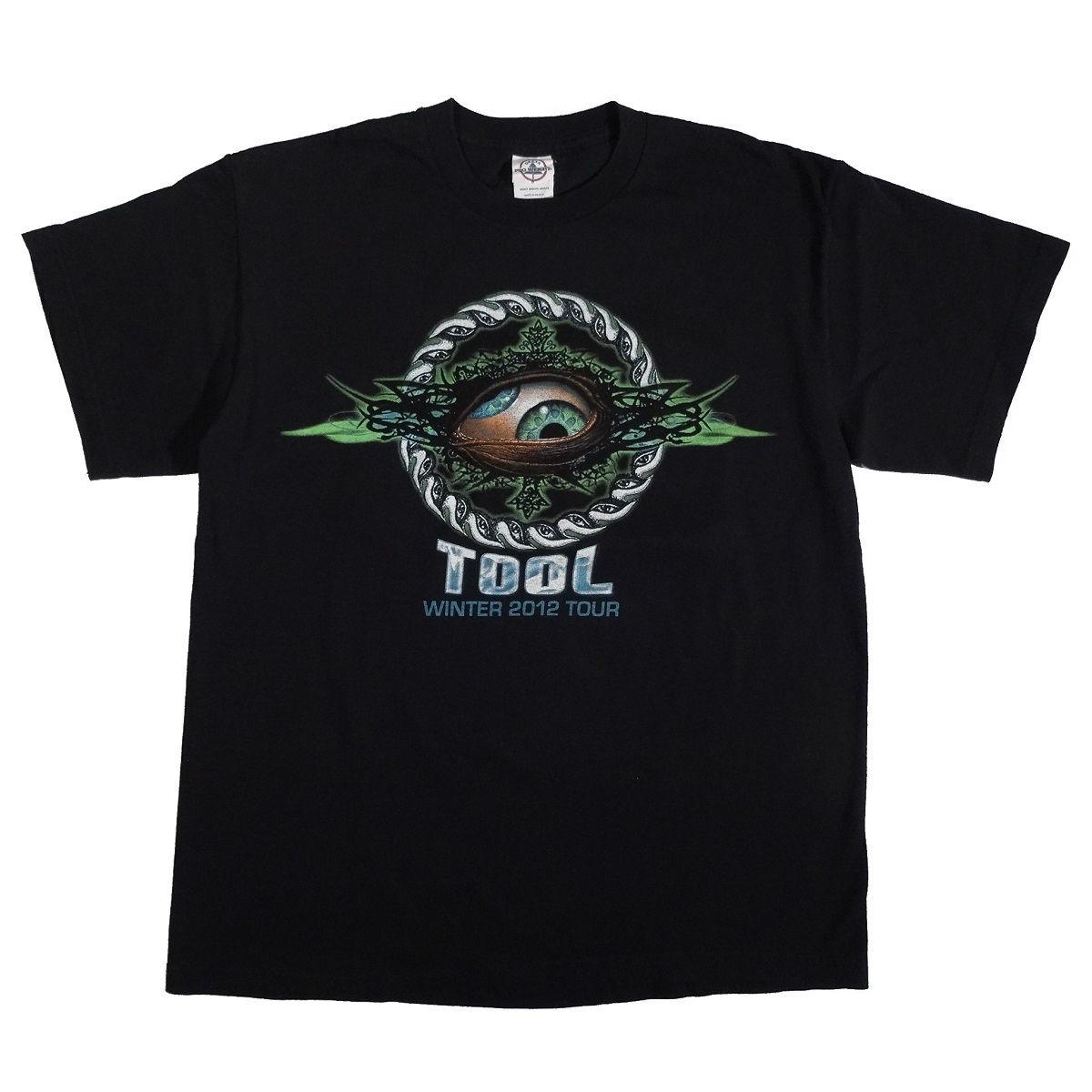 Tool Winter 2012 Tour Concert T Shirt Front