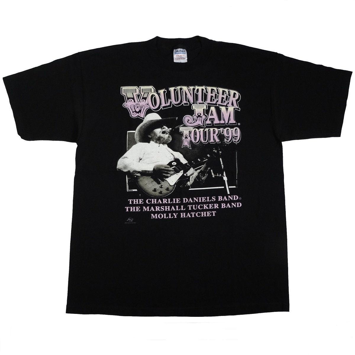 Volunteer Jam 1999 Vintage T Shirt Front