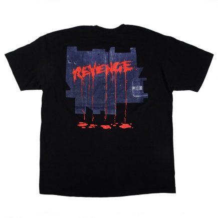 Kiss Revenge Tour 1992 Vintage T Shirt Back