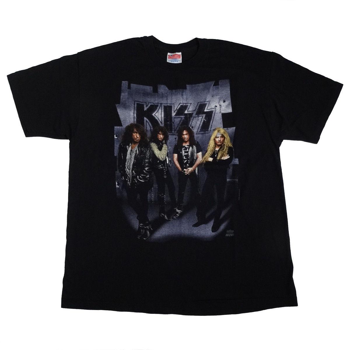 Kiss Revenge Tour 1992 Vintage T Shirt Front