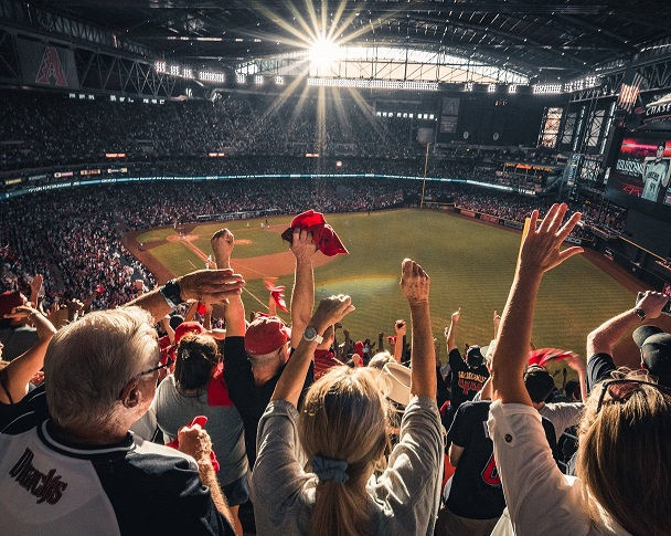 image crowd baseball game gallery above footer