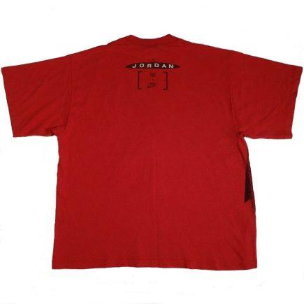 Vintage 90's Nike Air Jordan T Shirt image of back of shirt