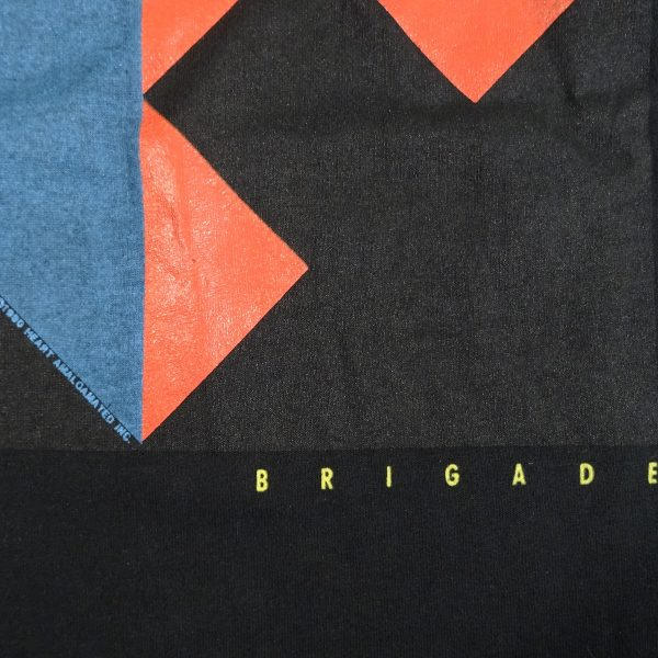 Heart Brigade World Tour 1990 vintage concert t shirt date year