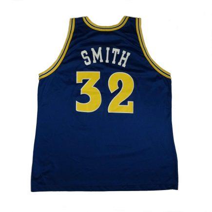 Joe Smith Golden State Warriors Vintage Champion Jersey Back