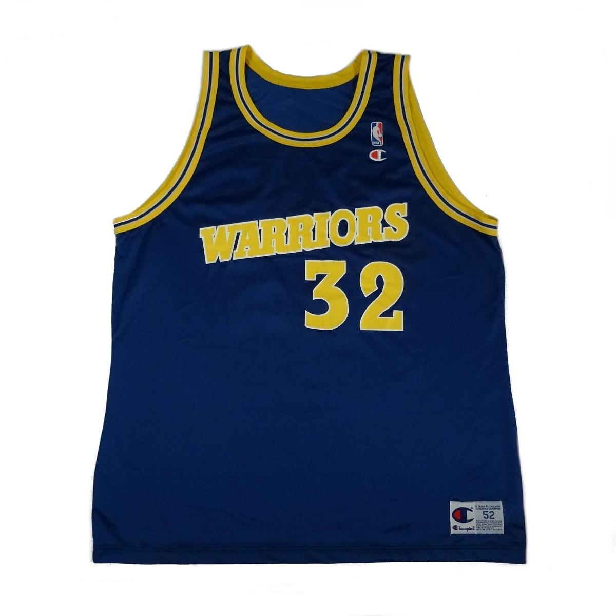 Joe Smith Golden State Warriors Vintage Champion Jersey Front