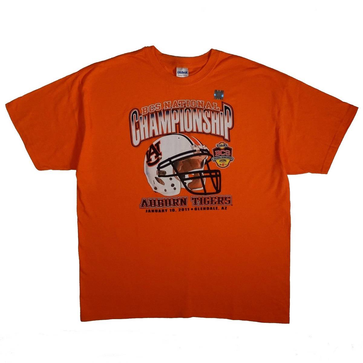 auburn tigers 2011 ncaa football national championship t shirt front