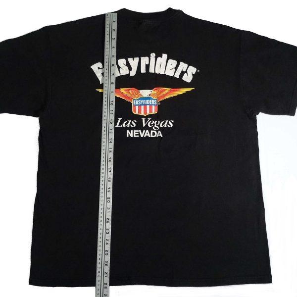 easyriders motorcycle las vegas vintage t shirt length measurements