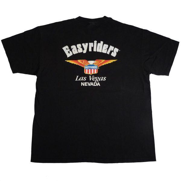 easyriders motorcycle las vegas vintage t shirt back
