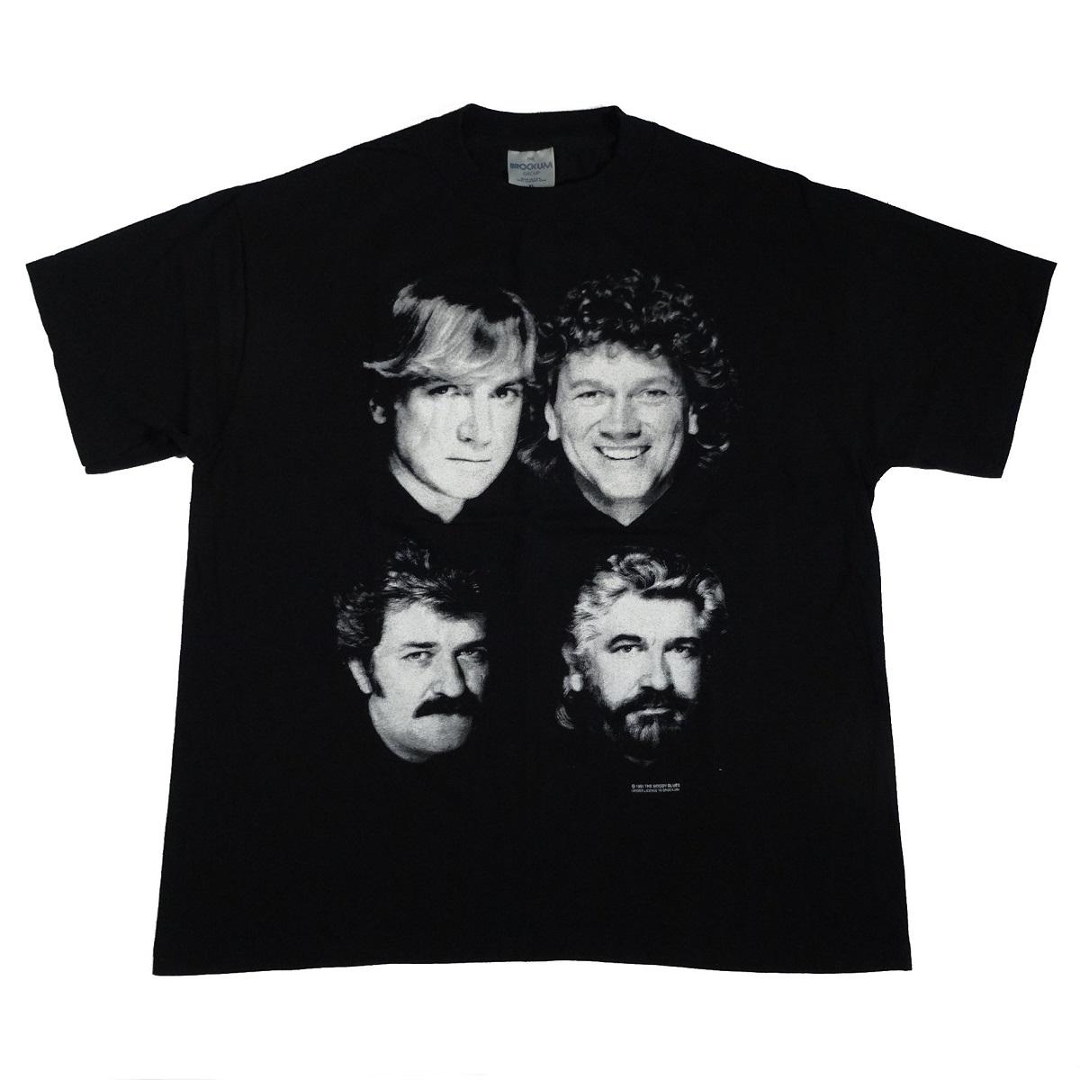 moody blues vintage 1991 tour t shirt front