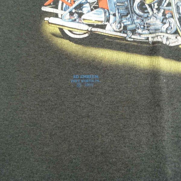 vintage 3d emblem harley davidson strong survive colorado truck stop t shirt date year