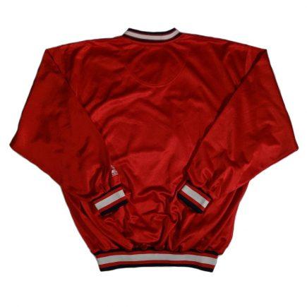 atlanta braves vintage starter jacket pullover back of jacket