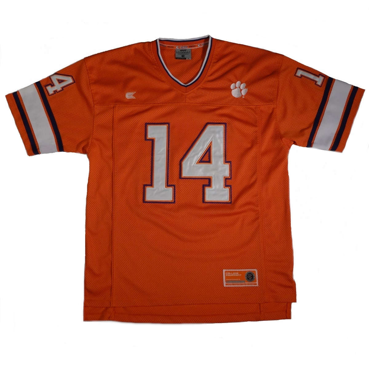clemson tigers football jersey number 14 front of jersey