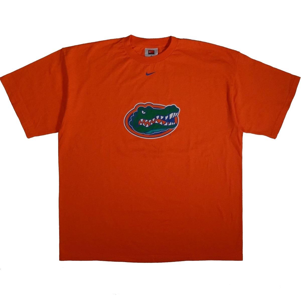 florida gators athletics vintage nike t shirt front of shirt