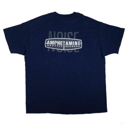 amphetamine reptile records t shirt vintage 90s amrep back of shirt
