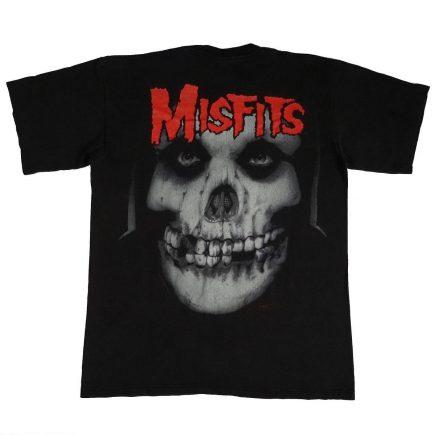 misfits band concert tour vintage 90s t shirt back of shirt