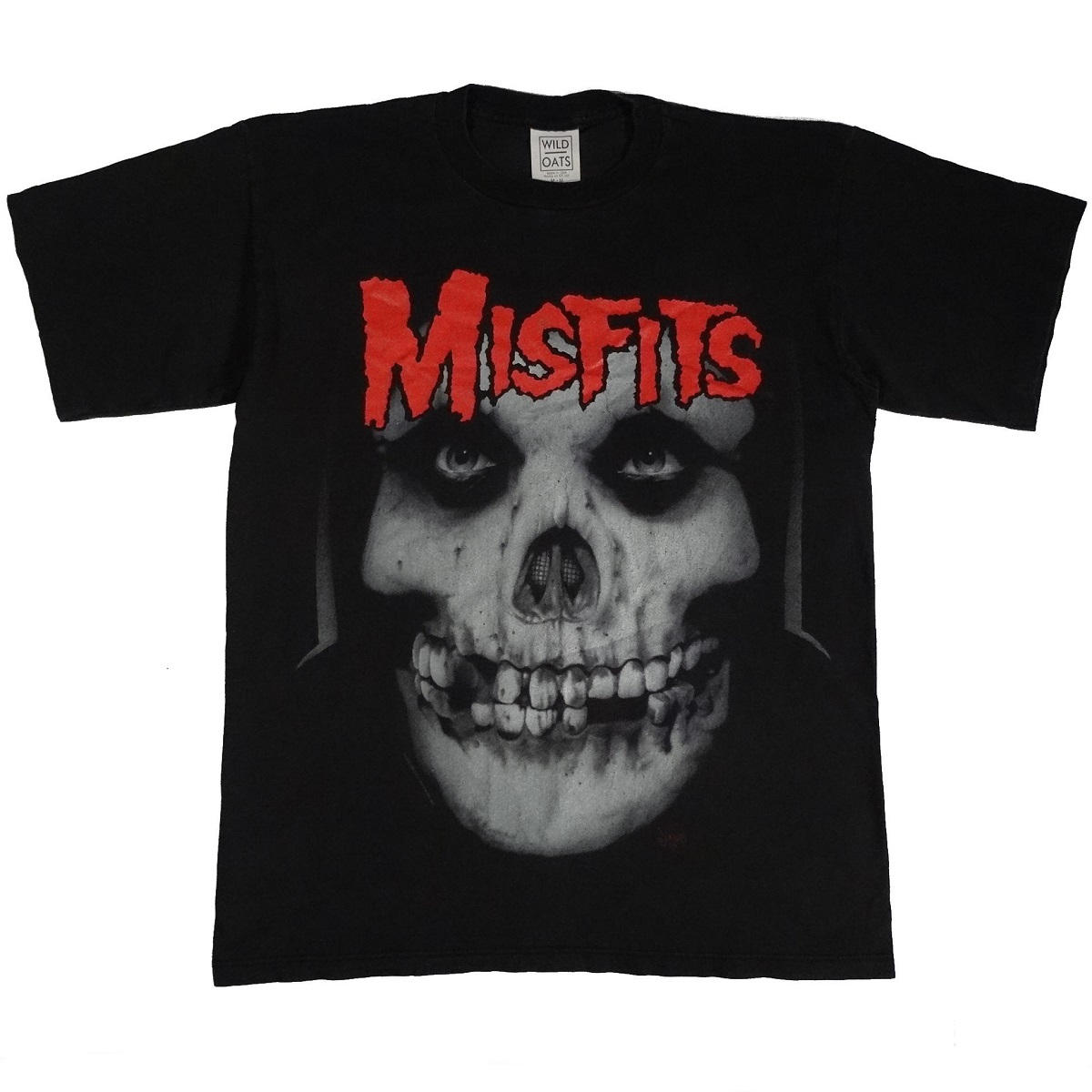 misfits band concert tour vintage 90s t shirt front of shirt