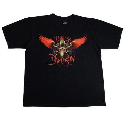 temecula california vintage 90s harley davidson t shirt front of shirt