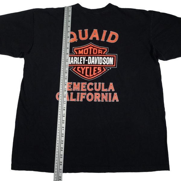 temecula california vintage 90s harley davidson t shirt length measurements