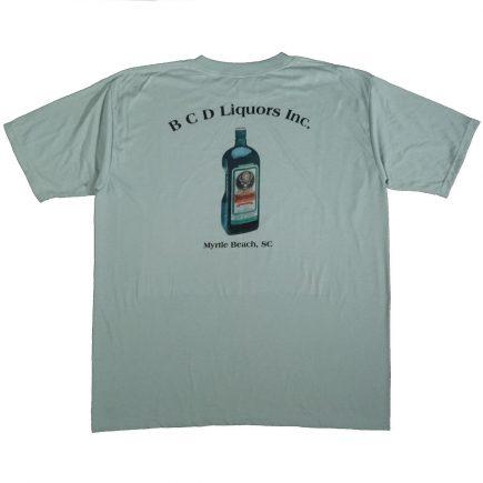 jagermeister myrtle beach liquor vintage shirt back of shirt