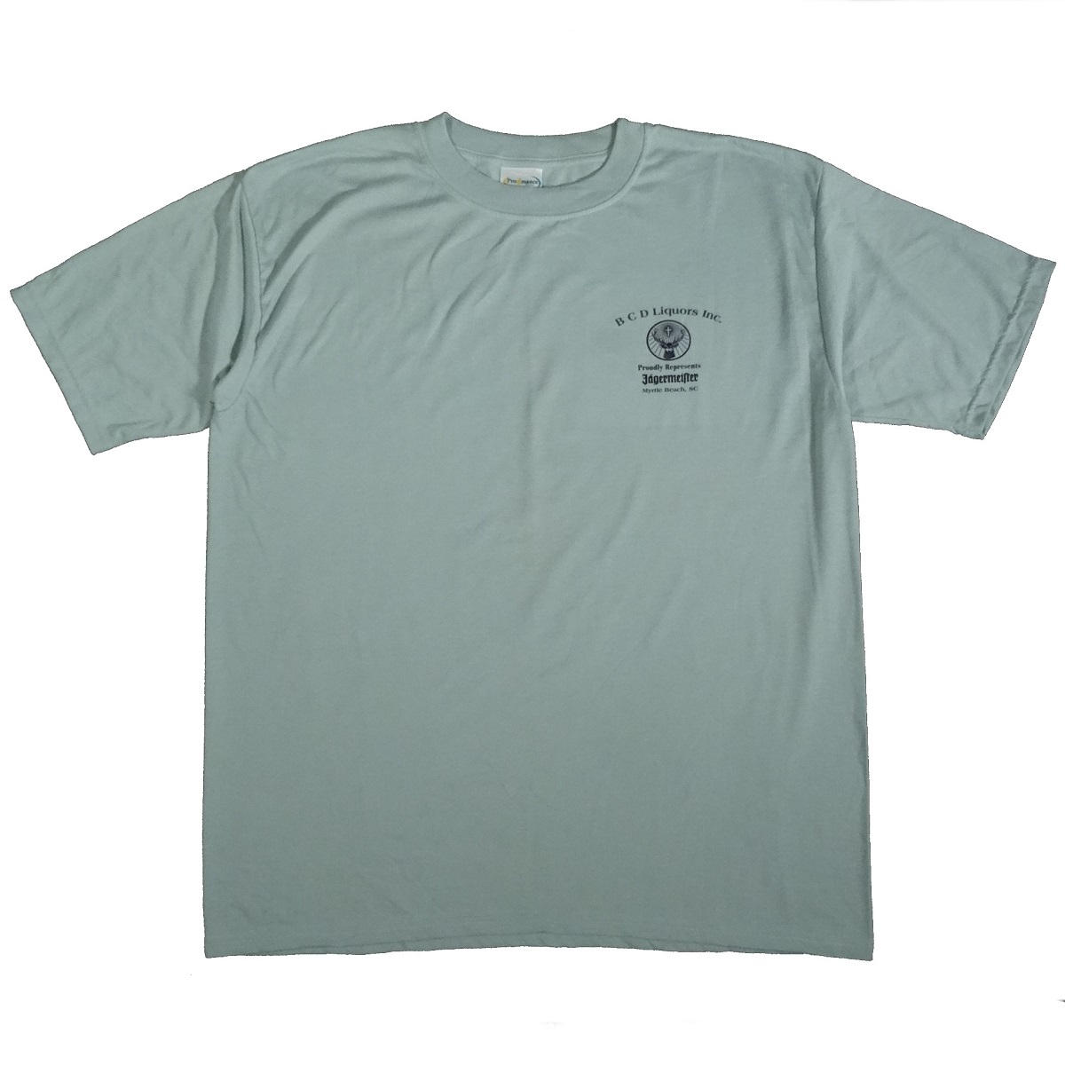 jagermeister myrtle beach liquor vintage shirt front of shirt