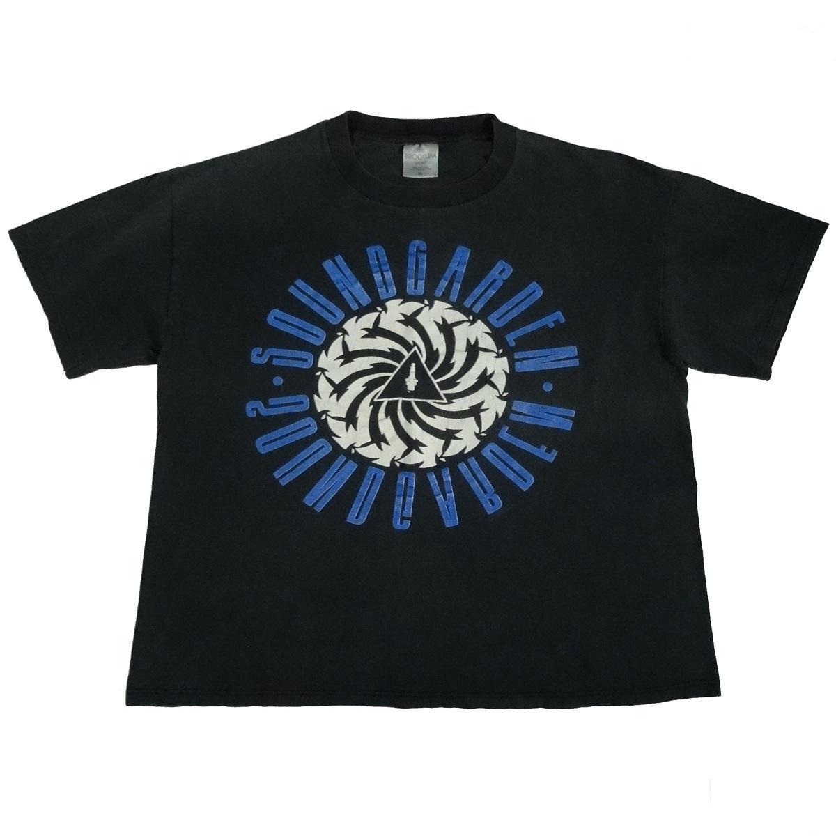 soundgarden badmotorfinger vintage 1992 somms t shirt front of shirt